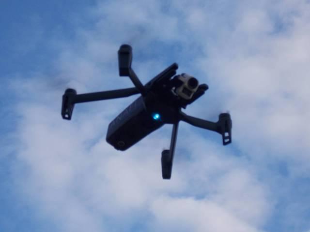 drone anafi thermic